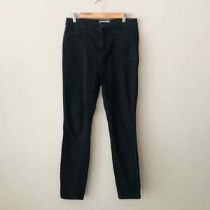 Women's Free People High Waisted Moto Pants Black